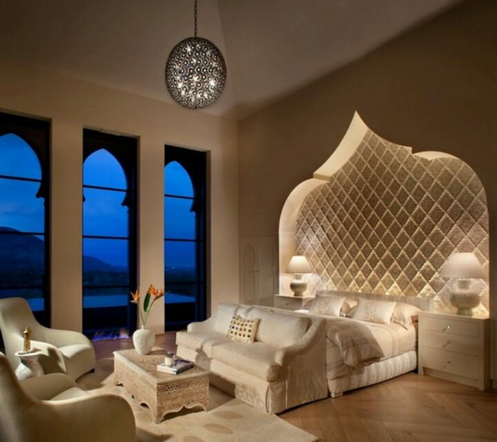 : ديكورات غرف نوم مغربية : ديكور