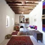 غرفة نوم مغربية طويلة