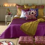 اللون الموف لتزيين غرف النوم