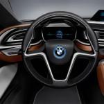 صورة عجلة القيادة للسيارة بي ام دبليو i8 - 2014 - 43089