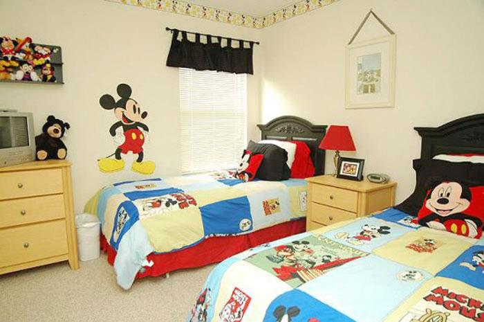 غرف نوم اطفال مزدوجة المرسال