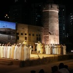 احدي فعاليات مهرجان قصر الحصن