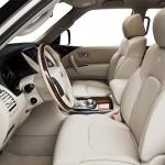 المقاعد الامامية للسيارة انفينتي كيو اكس 80 - 2014