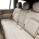 المقاعد الخلفية للسيارة انفينتي كيو اكس 80 - 2014
