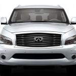 الواجهه الامامية للسيارة انفينتي كيو اكس 80 - 2014