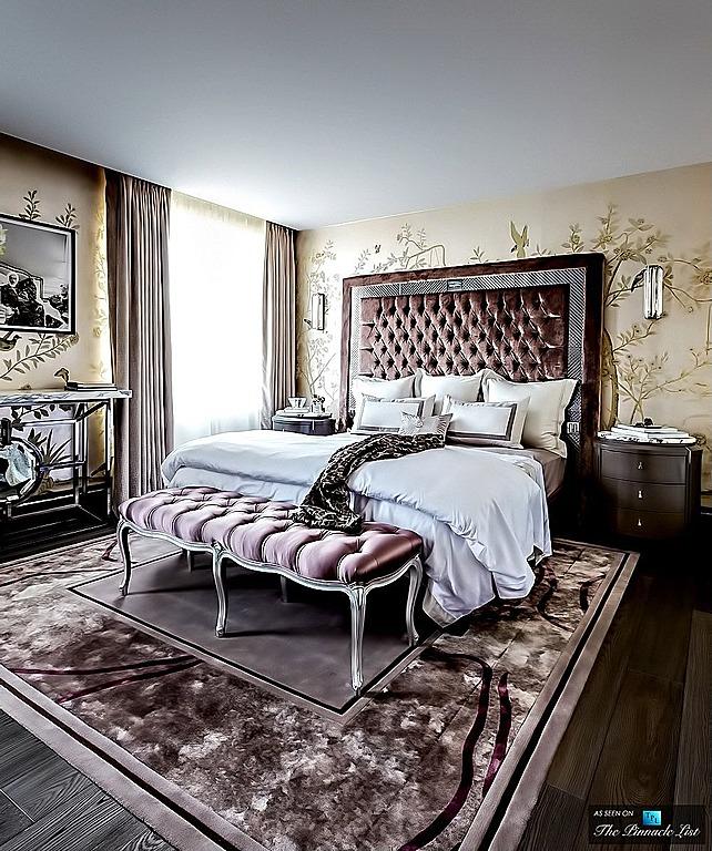 ارضية خشبية بغرف النوم الفخمة للقصور | المرسال
