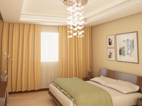 نجف مميز بغرف النوم المميزة وارضية خشبية | المرسال