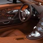 المقاعد الامامية للسيارة بوجاتي فيرون 2014