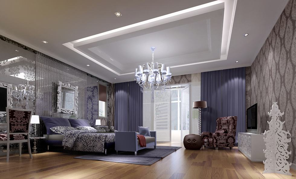 Blue Luxury Bedrooms