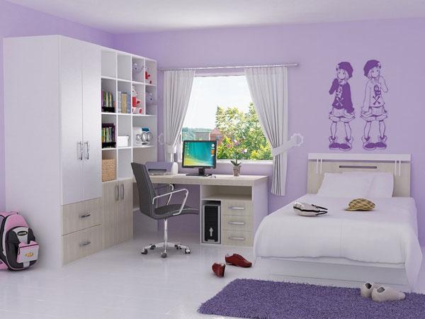 غرف نوم شبابية بألوان هادئة مودرن | المرسال
