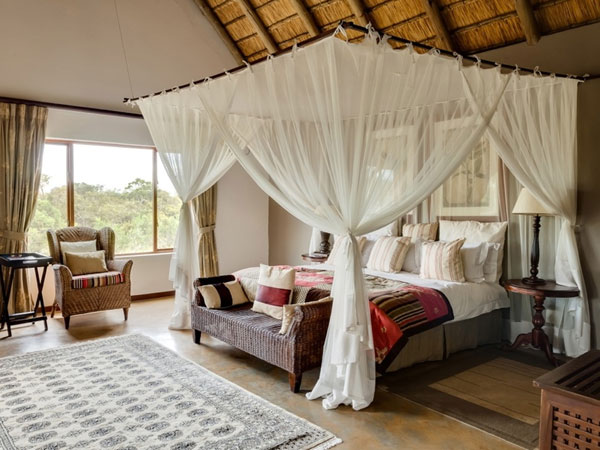 سرير بستائر بغرف النوم الرومانسية الرائعة | المرسال