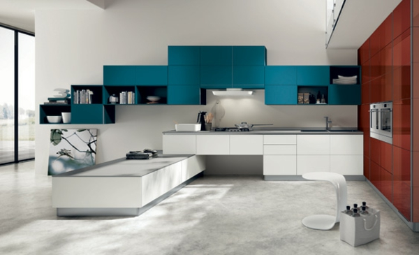 - Modern kitchen color combinations ...