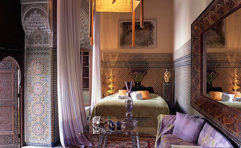 اروع تصاميم غرف النوم المغربية | المرسال