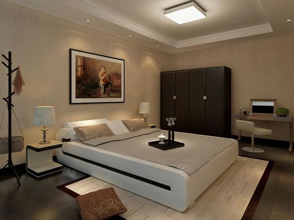 غرفة نوم مودرن انيقة بألوان متناسقة | المرسال