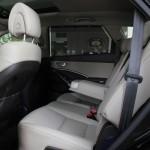 المقاعد الخلفية للسيارة هيونداي جراند سنتافي 2014