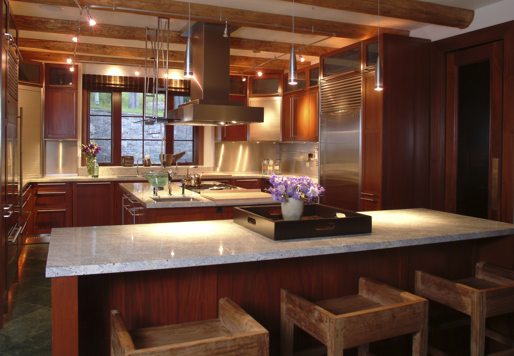 for Corridor kitchen design ideas
