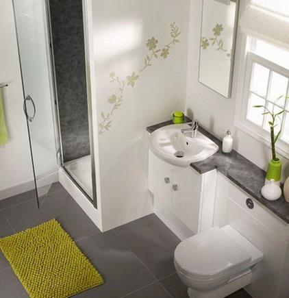 حمامات صغيرة وجميلة المرسال