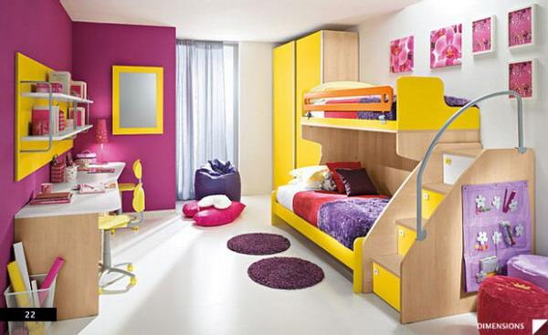 الوان زاهية لغرف نوم اطفال ايكيا | المرسال