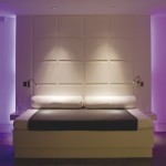 Stunning-bedroom-lighting-for-purple-motif-with-white-headboard - 64149