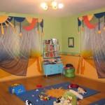 ستائر لغرف نوم الاطفال