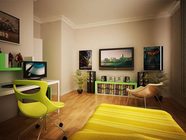 اللون الليموني لتزيين غرف النوم بالبيت | المرسال