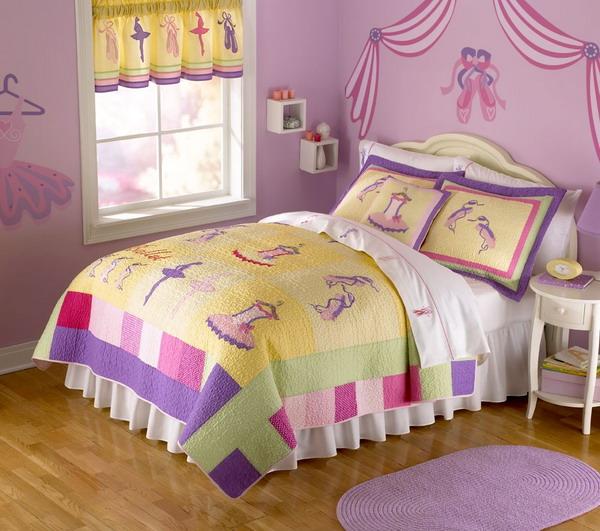 مفارش سرير لغرف نوم بنات اطفال