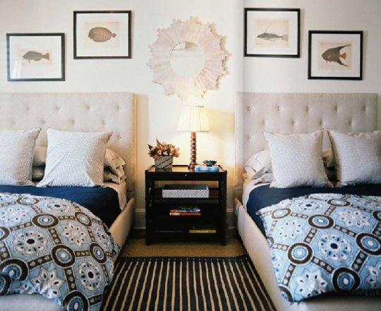 موديلات غرف نوم بسريرين | المرسال