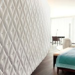 تصاميم ديكورات جبس للحوائط باللون الابيض  - 78935