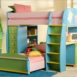 اجمل ستايلات للسراير بدورين للاطفال  - 73340