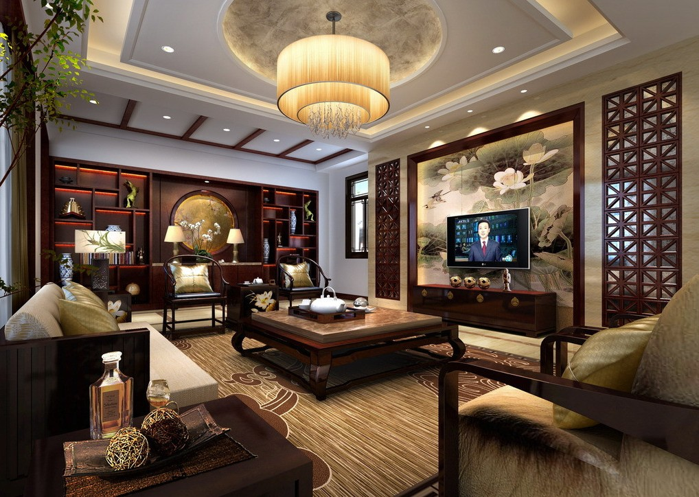 for Asian design living room ideas
