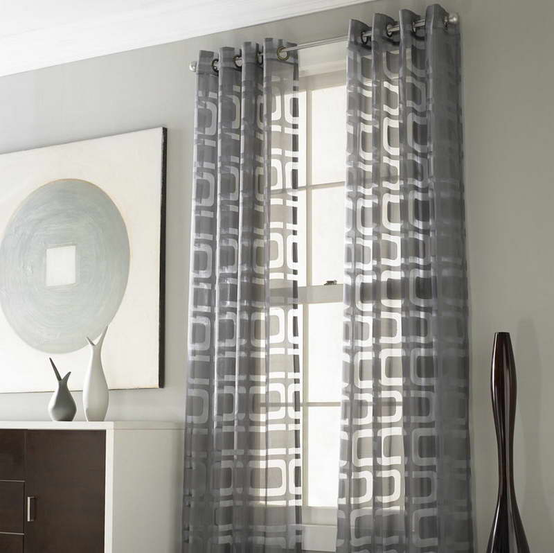 Grey Walls with Curtains 800 x 798