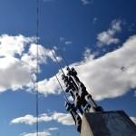 برج التلفزيون كيفلي في بلانشارد بـ مقاطعة تريل