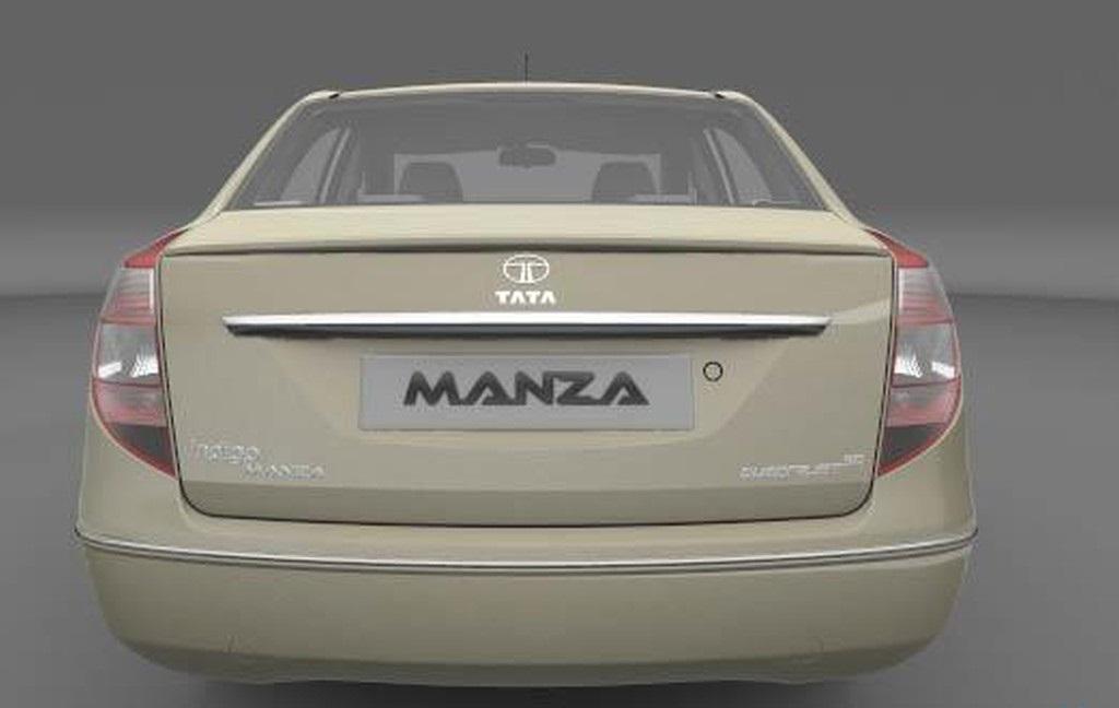 صورة من الخلف للسيارة Tata Manza 2014 | المرسال