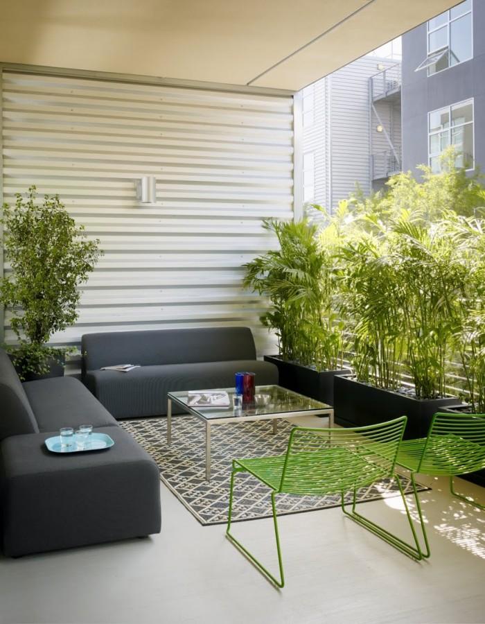 ���� ��������� ٢٠١٤ ����� ���� awesome-city-terrace-decor-ideas-gray-sofas-green-chair.jpg