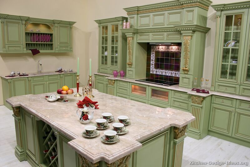 ���� ������� ٢٠١٤ ������ ����� kitchen-cabinets-traditional-green-001-s2213376-gold-accents-wood-hood-island-honed-luxury.jpg
