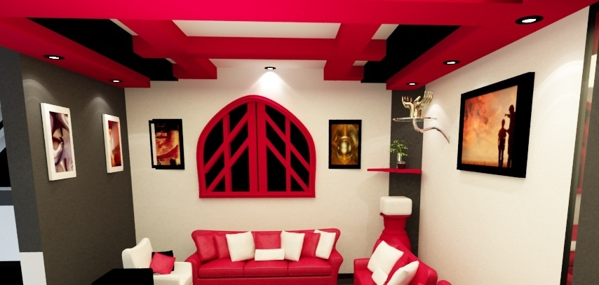 modern-living-room-design-with-pink-furniture-and-modern-living-room-design-with pink-gypsum