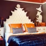 غرف نوم برتقالية