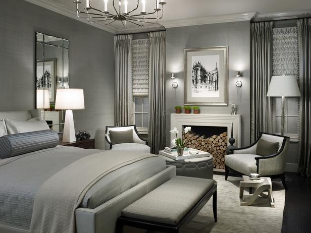 ديكورات غرف نوم باللون الرمادي | المرسال