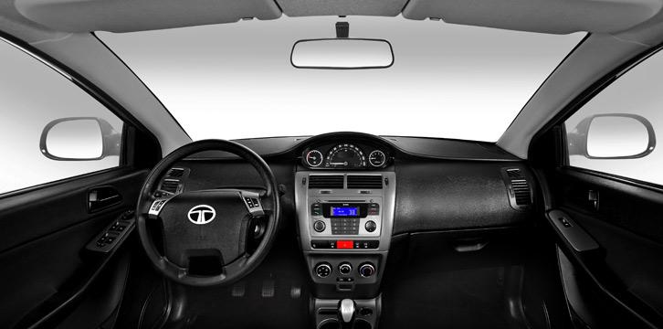 صورة داخلية للسيارة تاتا مانزا 2014 | المرسال