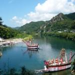 نهر بوتان في مقاطعة سيرت جنوب شرق تركيا