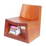 افكار تخزيين بكرسي خشبي