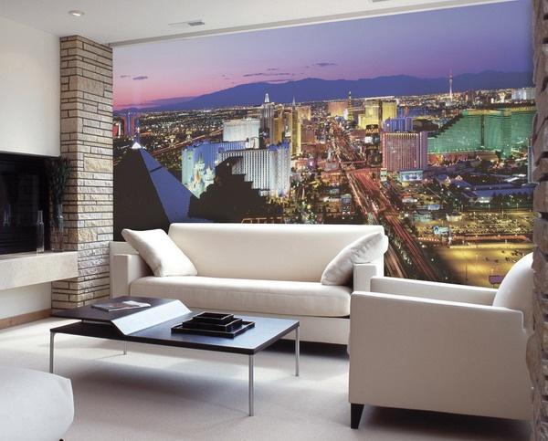 ستايلات ورق حائط ثلاثية الابعاد بغرفة