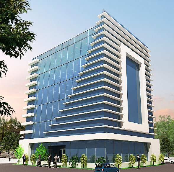 ������ ������ ����� ����� ������ 3D-Commercial-Plaza-Tower-Front-Elevation-35.jpg