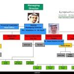 سلسلة مسئولي مجموعة على بن لادن السعودية