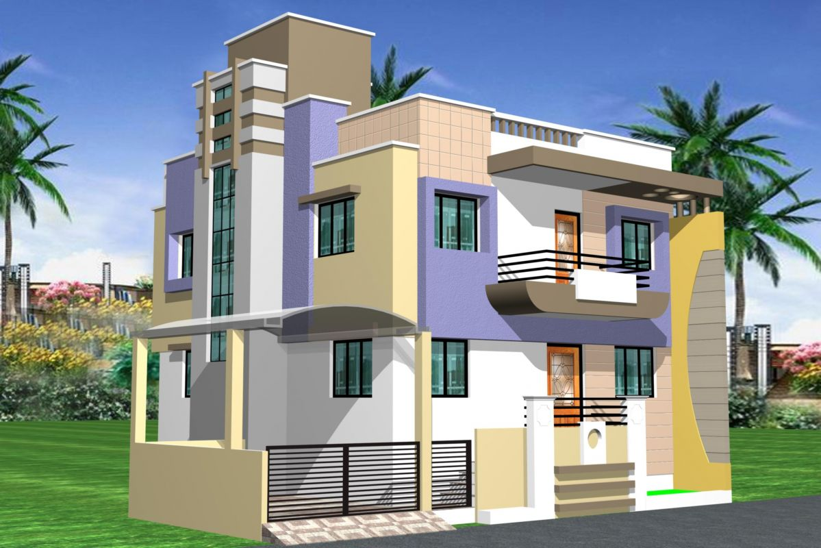 Front Elevation Color Scheme Asian Paint : اشكال واجهات منازل من طابقين المرسال
