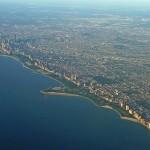لقطة جوية لأفق شيكاغو. - 82405