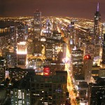 شيكاغو من الطابق 96 من مركز جون هانكوك - 82408