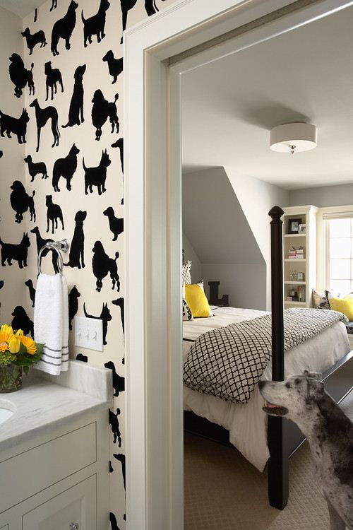 ����� ����� ����� ������ ������� Dogs-and-Cats-Wallpaper-for-Kids-Master-Bedroom.jpg