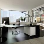 الابيض والاسود بغرف مكتب مبهرة  - 82083