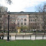 Washington Square Park and the Newberry Library - 82421